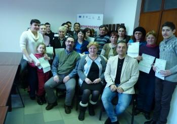 26 de cursanti din Ilfov, pregatiti pentru demararea unei afaceri